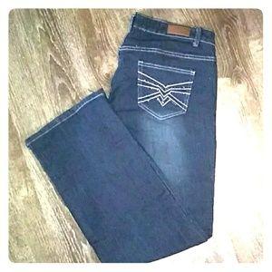 Dkin blue jeans sz18